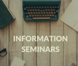 Save the date for information seminars